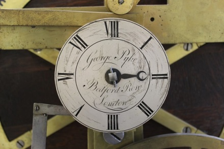 Fig.  3.  Tune selection dial signed George Pyke, Bedford Row London.