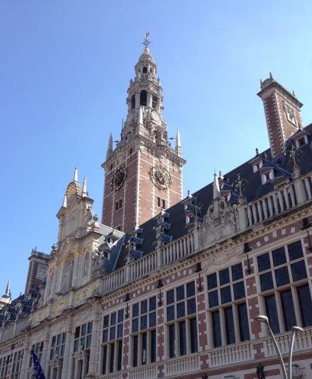 Leuven main library